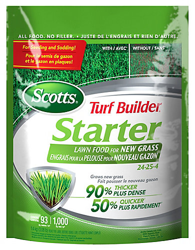 Turf Builder Starter Fertilizer 24-24-4