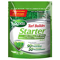 Scotts Turf Builder Starter Fertilizer 24-24-4