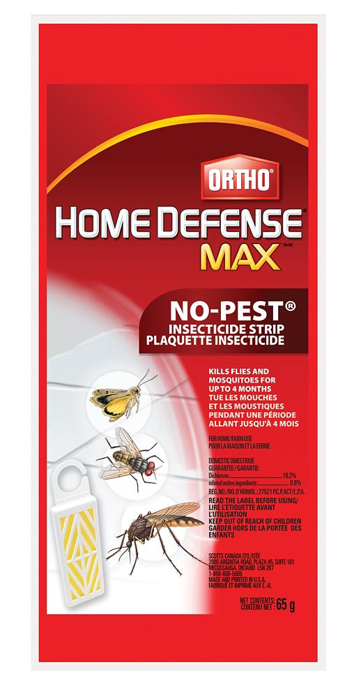 Plaquettes insecticides Ortho Home Defense MAXMC  65 g
