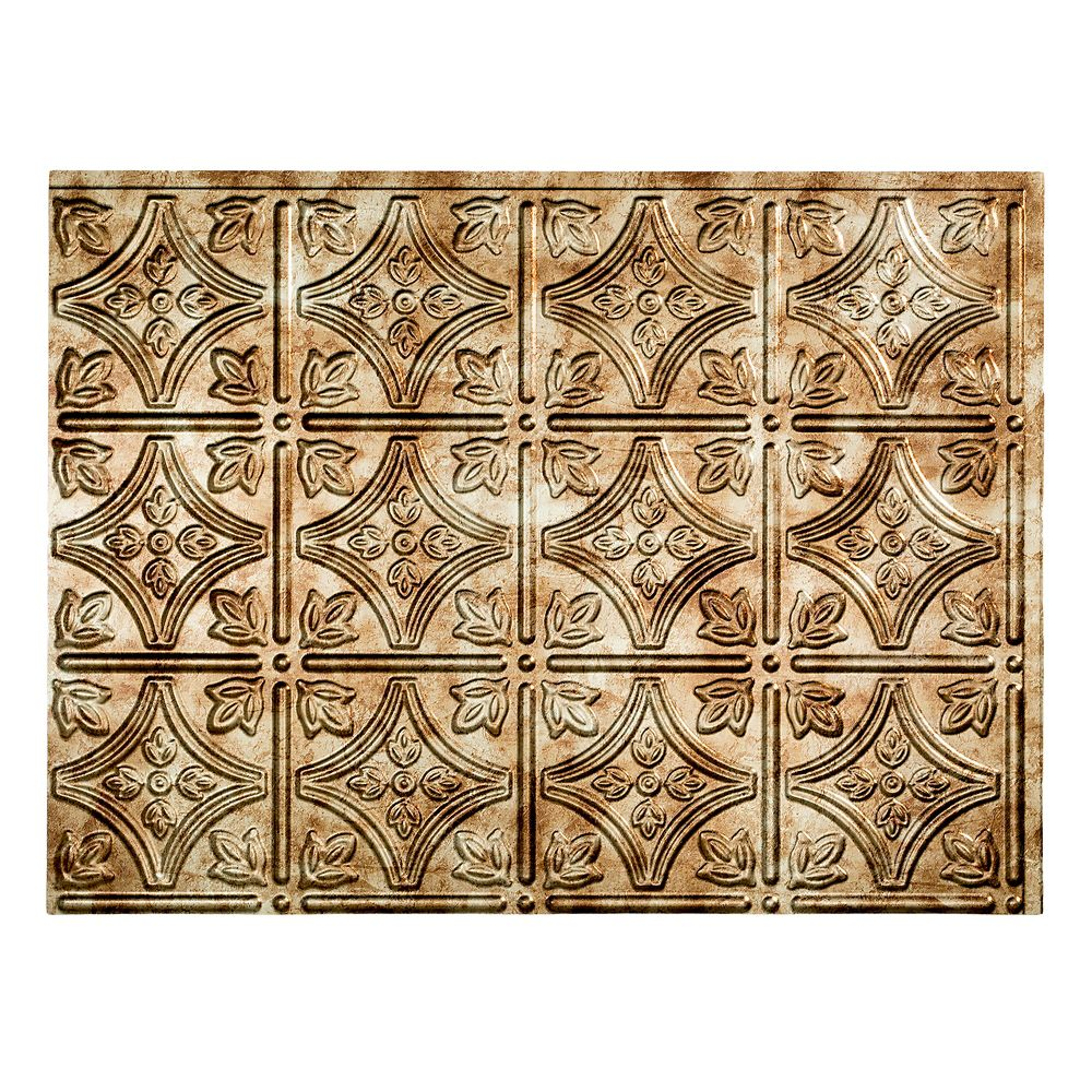 Traditional 1 Bermuda Bronze Backsplash