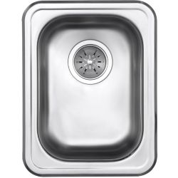 Elkay Signature Drop-In 13-inch x 17-inch Hospitality Sink in Brushed Satin