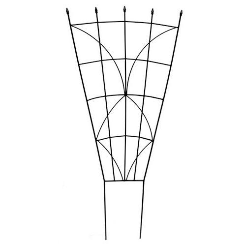 Peak Products 40-inch Haven Fan Trellis in Black