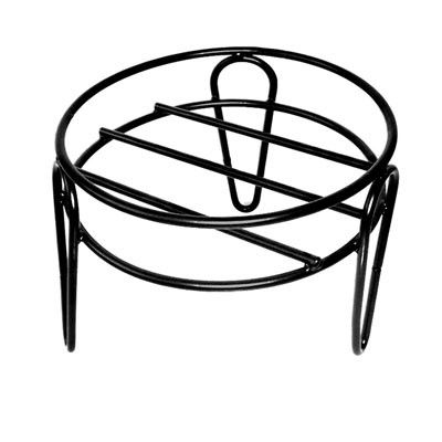 15 In. X 10 In. Simple Plant Stand-Black