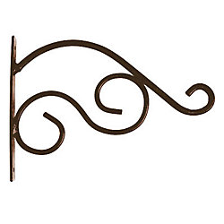Peak Products 11-inch Charm Plant Bracket in Rust