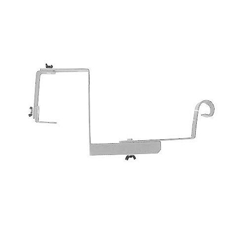 "Peak Products 12"" SUPPORT POUR RAMPE AJUSTABLE - BLANC"