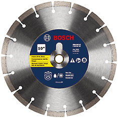 10 inch Premium Segmented Rim Diamond Blade for Universal Rough Cuts