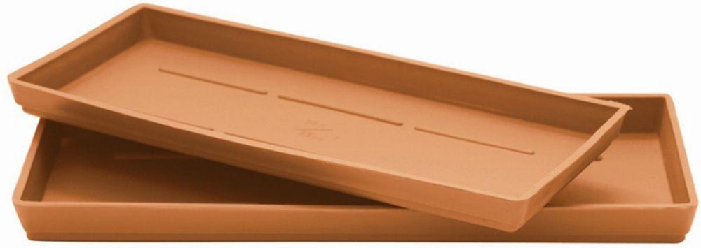 14 In. Saucer - Window Box Plasticotta