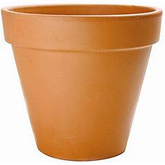 8 1/4-inch Flower Pot in Terra Cotta