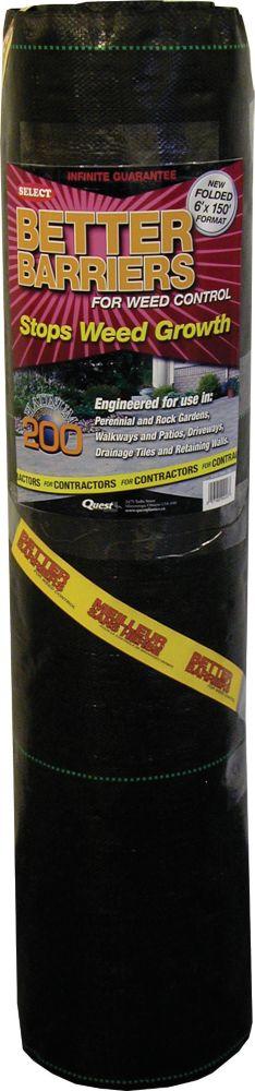 Better Barriers Platinum 200 - 6'x150'