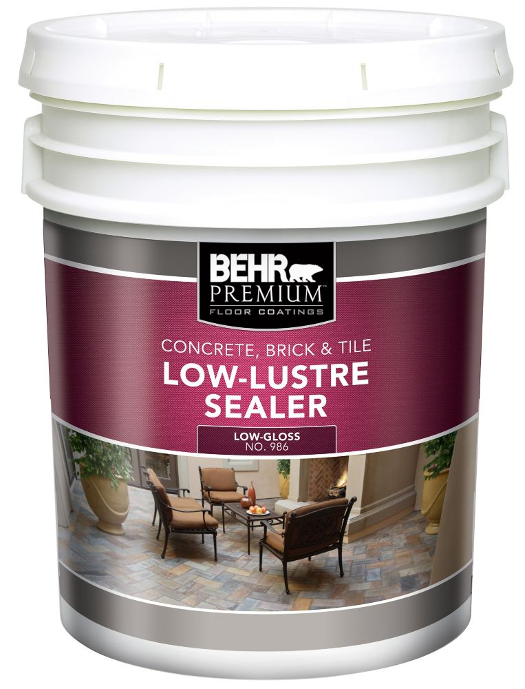Interior/Exterior Low-Lustre Sealer - 18.9L