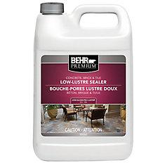BEHR PREMIUM Concrete, Brick & Tile Wet-Look Sealer, Low-Gloss - 3.79L