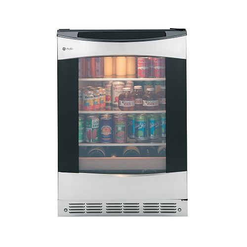 GE Profile 12-Bottle Beverage Cooler in Stainless Steel