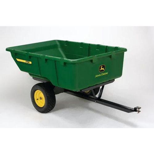 John Deere 1,000 lb. 17 cu. ft. Tow-Behind Poly Utility Cart