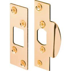 Prime-Line Brass Plated Security Strike Kit