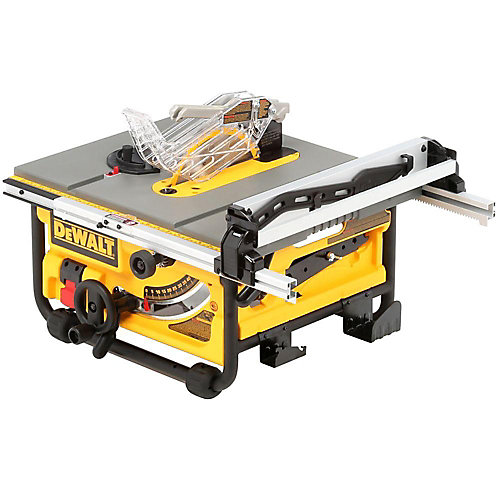 15-amp Corded 10-inch Compact Job Site Table Saw with Site-Pro Modular Guarding System