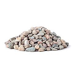 Deco Stone Line Pierre de rivière naturelles 44 lb. 6 cu.ft