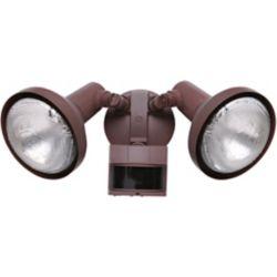 Heath Zenith 240 Degree PAR Motion Sensing Security Light - Rust