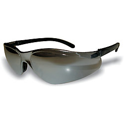 Extreme Shades Wrap Around Safety Glass Black Lens