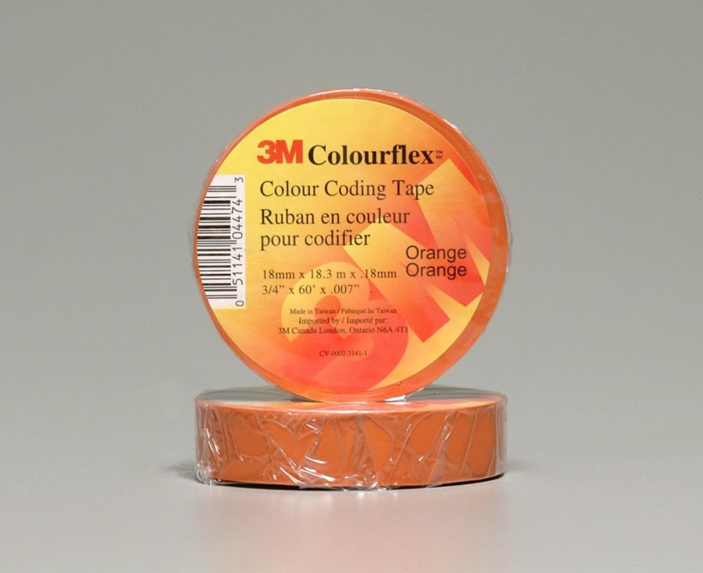 Ruban pour codage par couleur Colourflex Orange