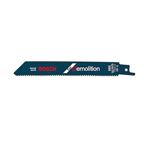 6 In. X 10/14tpi Demolition Recip.Blade