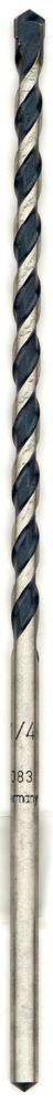 Bosch 1/4-inch x 6-inch x 8-inch Blue Granite Carbide Hammer Drill Bit
