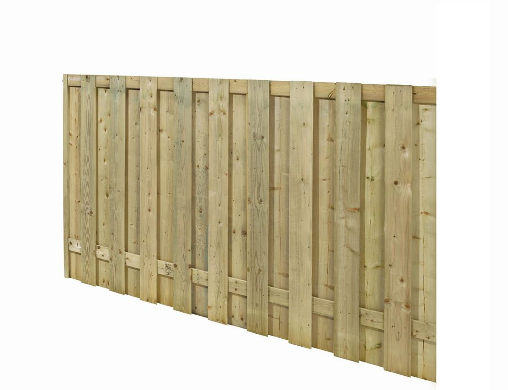 Treated Wood Fence Panel