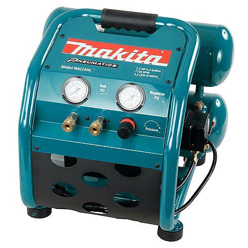 MAKITA 2.5 HP 4.2 GAL. Air Compressor