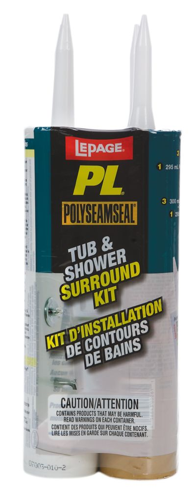 Tub & Shower Surround Kit - 4 pack