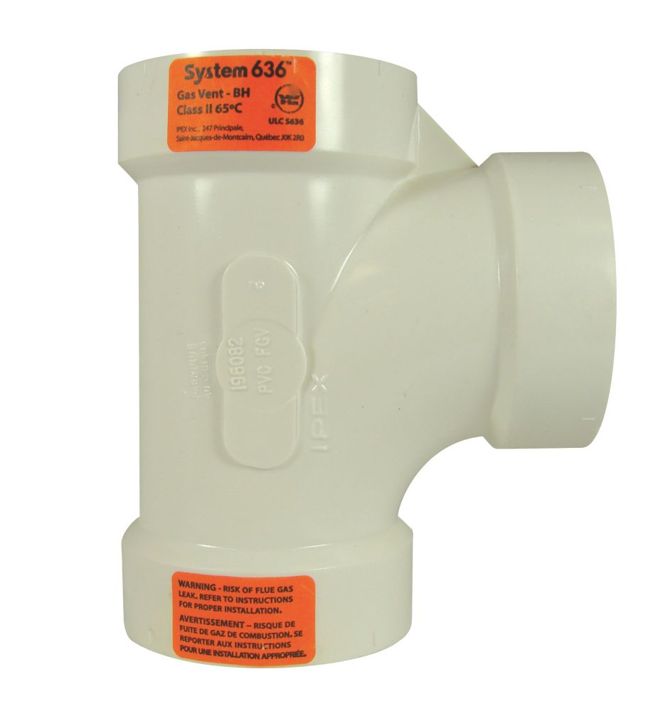 PVC-FGV TEE 2 inches H - System 636<sup>®</sup>