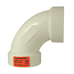IPEX HomeRite Products PVC-FGV 90D ELBOW LONG 2 inches H - System 636