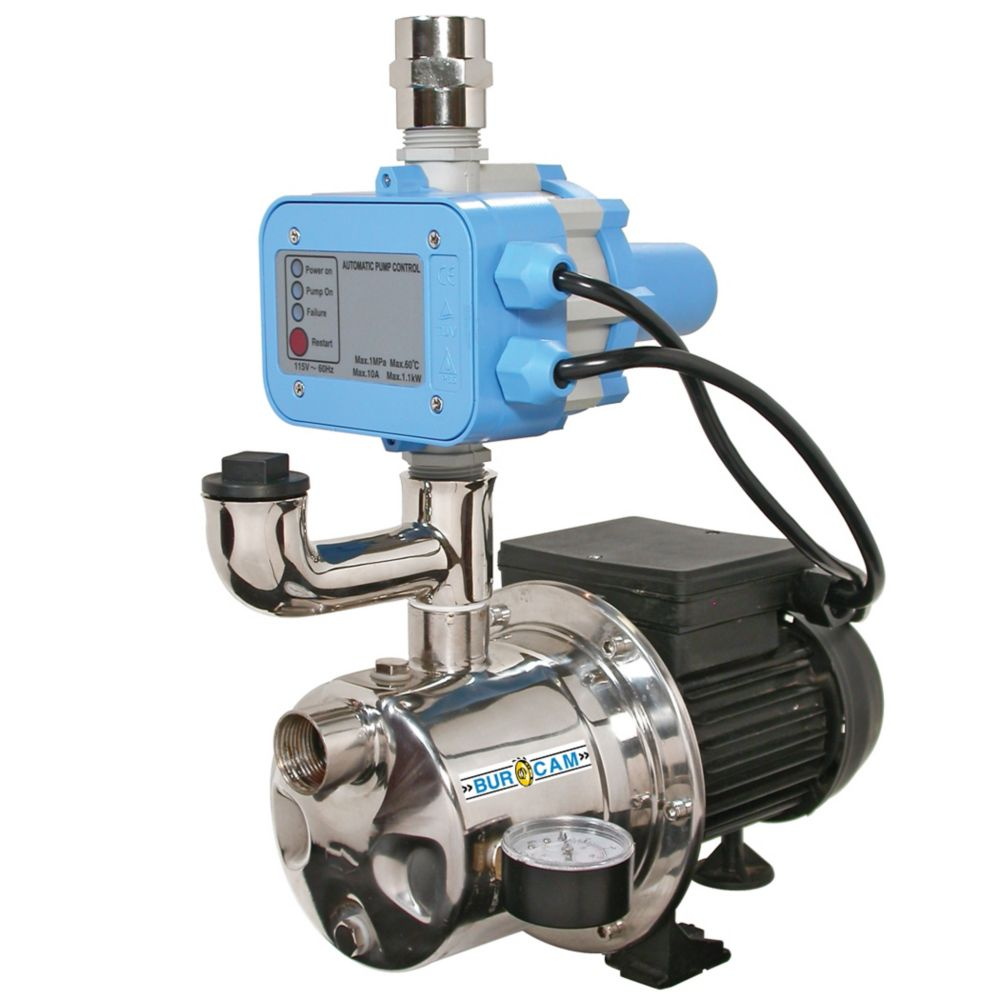 Bur Cam 3 4hp Fluomac Sw Jet Pump Tankless The Home Depot Canada Water Pressure Switch Should Only Be Done On S
