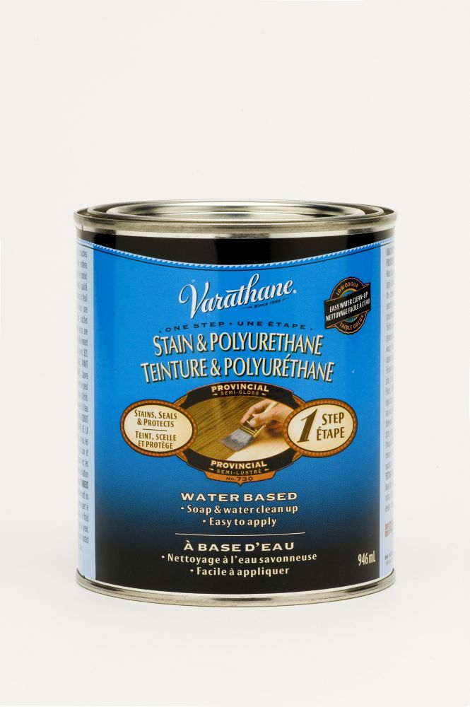 Varathane Stain & Poly (Water Int.) - Provincial (946ml)