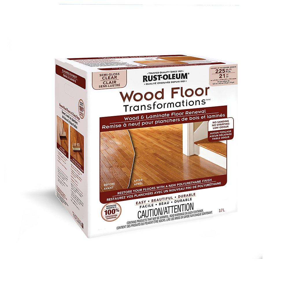 Transformations Wood Floor Semi Gloss Kit