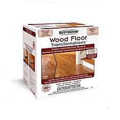 Rust-Oleum Transformations Wood Floor Semi-Gloss Kit