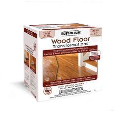 Rust-Oleum Kit de transformation des planchers de bois en clair semi-lustré (couvre jusqu'à 225 pi2)
