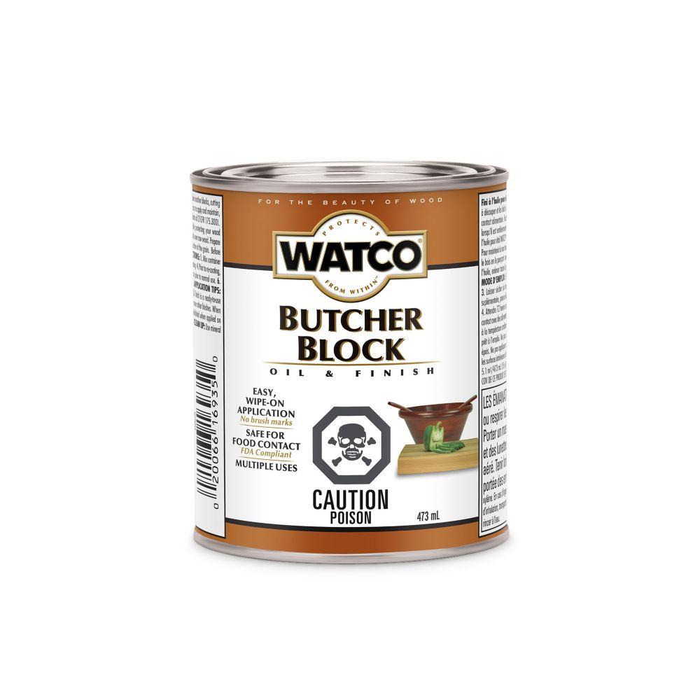 Butcher Block Oil & Finish (Oil, Int.)