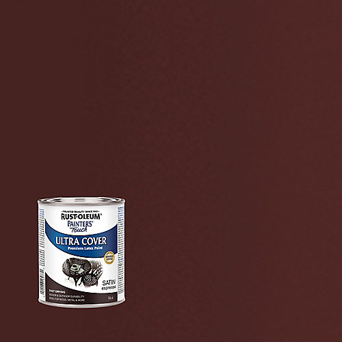 Painter's Touch Multi Purpose Paint In Satin Espresso, 946 mL