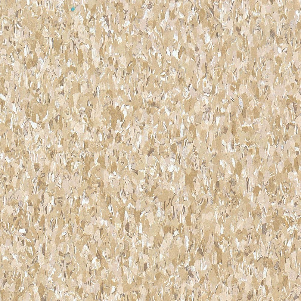 Imperial Texture 12-inch x 12-inch Vinyl Tiles in Cottage Tan