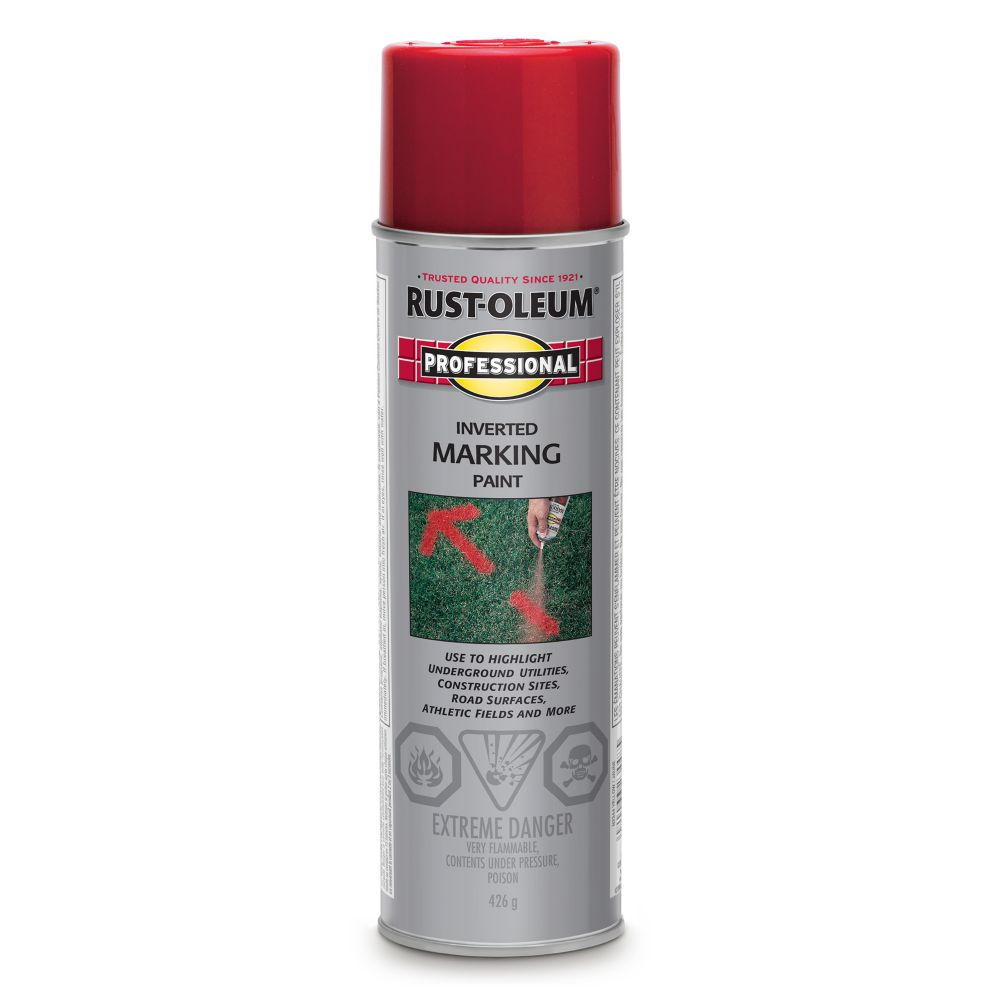 Inverted Marking Paint - Safety Red