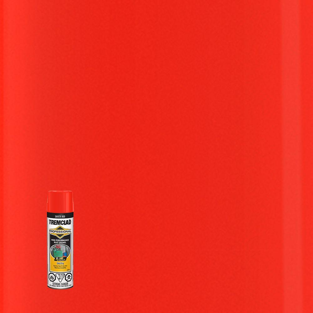 Émail Antirouille Professionel - Rouge (OSHA) - 426g