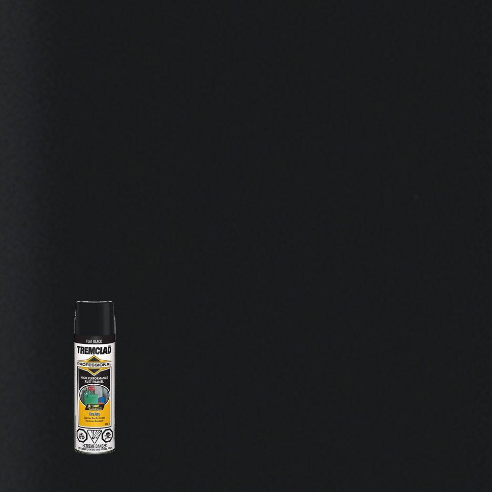 Émail Antirouille Professionel - Noir mat- 426g