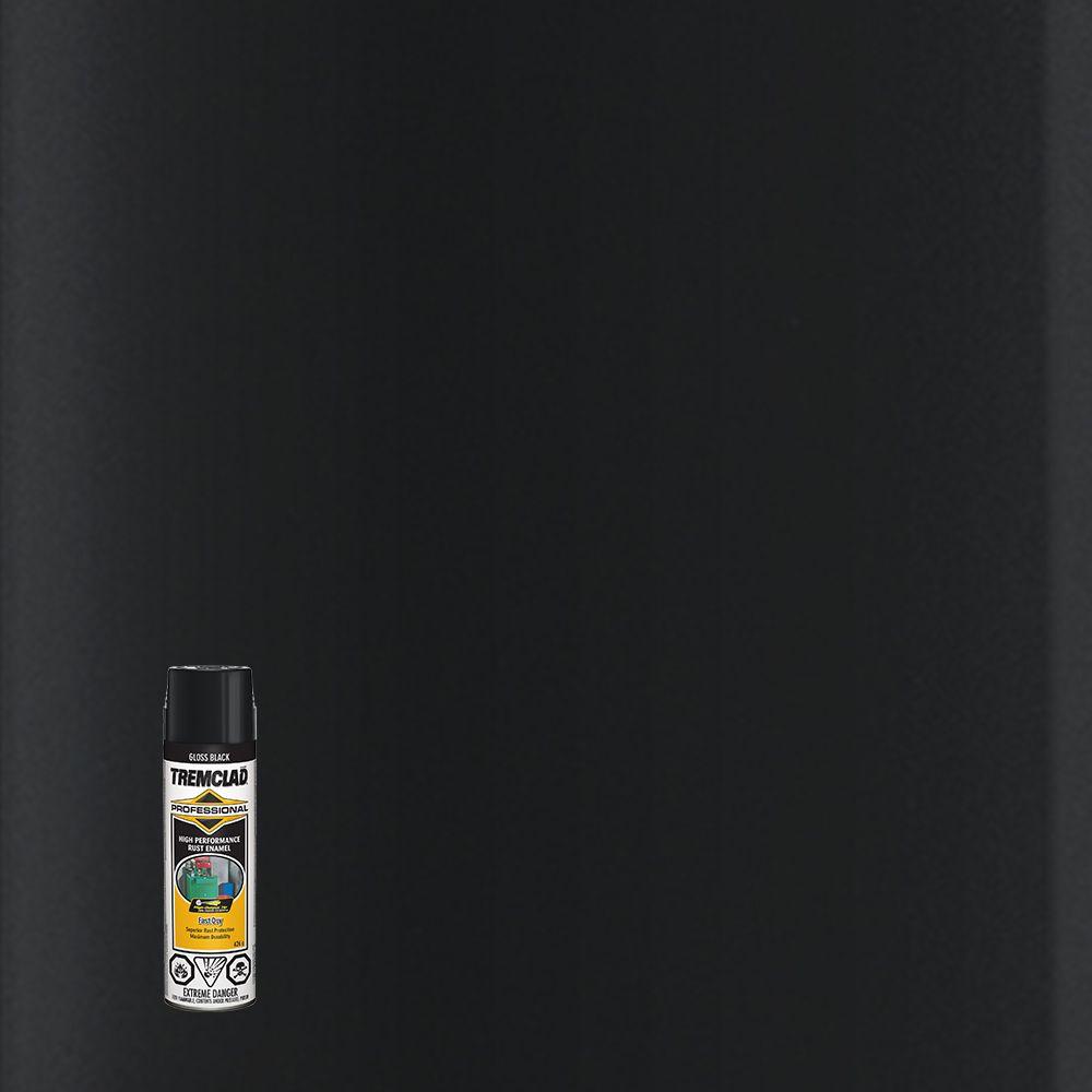Émail Antirouille Professionel -  Noir lustré- 426g