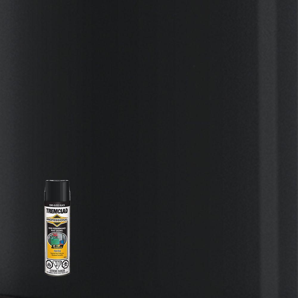 Émail Antirouille Professionel -  Noir Semi lustré- 426g