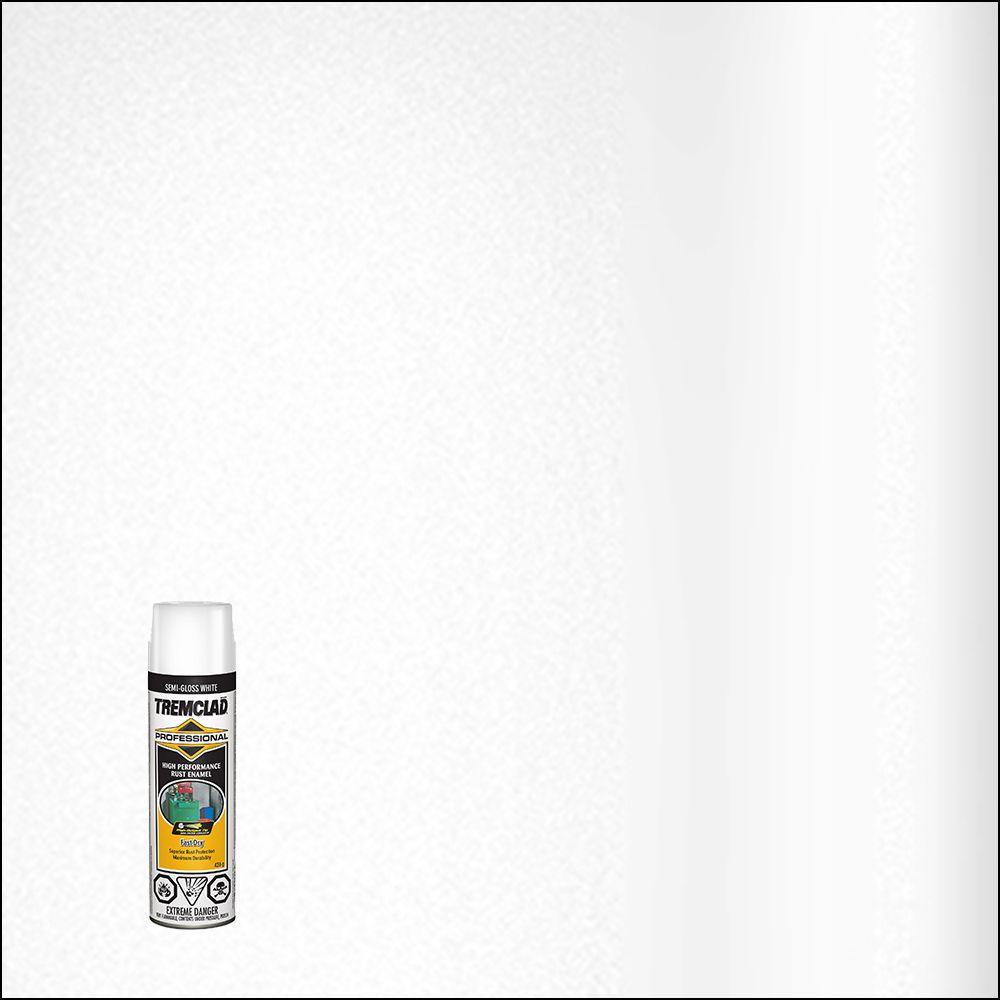 Émail Antirouille Professionel -  Blanc Semi lustre- 426g