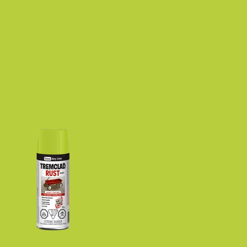 Rust Paint - Key Lime (340g Aerosol)