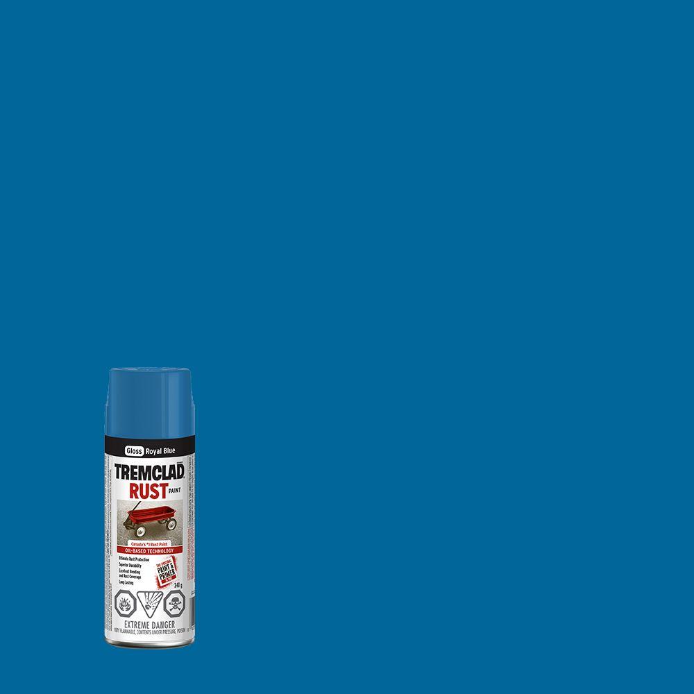 Peinture anti-rouille - Bleu royal (340g Aerosol)