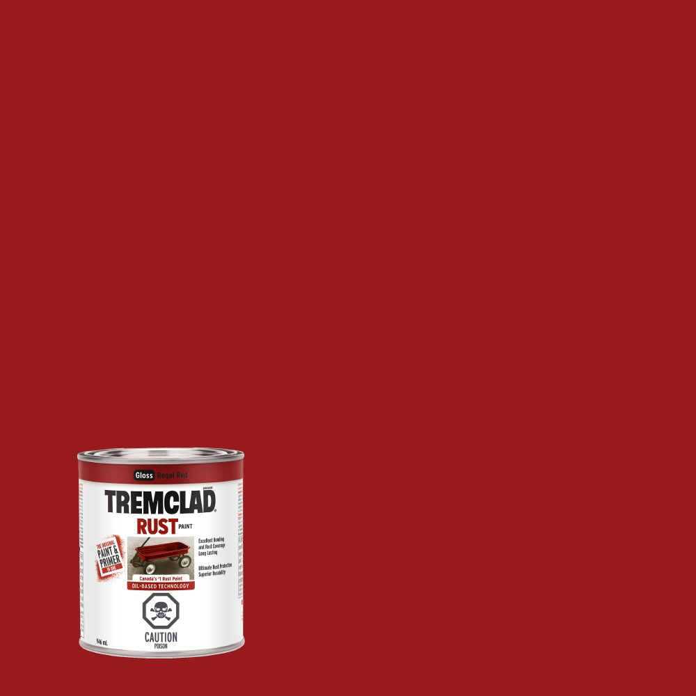 Tremclad Rust Paint Regal Red 946Ml