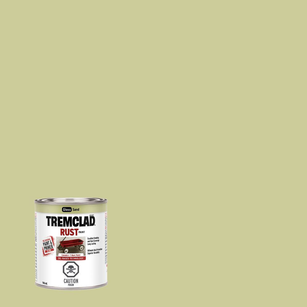 Tremclad Rust Paint Sand 946Ml