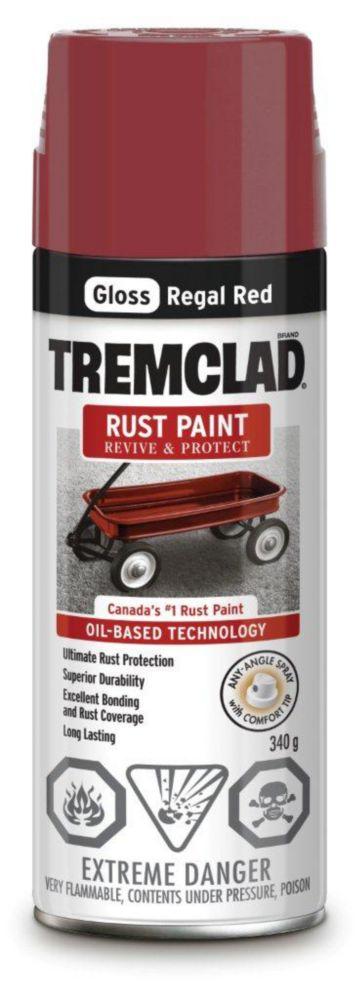 Rust Paint - Regal Red (340g Aerosol)