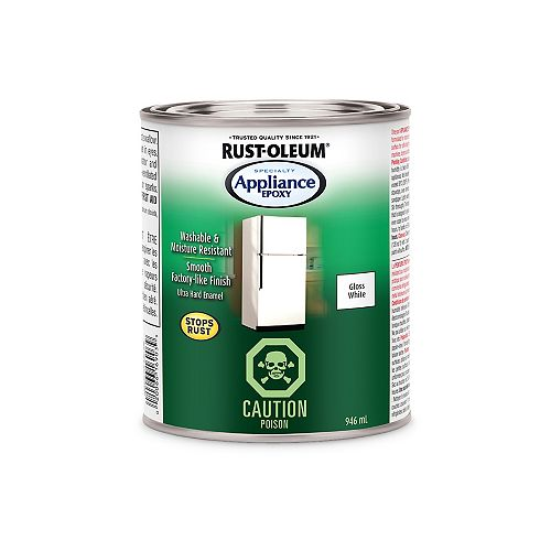 Rust-Oleum Specialty Appliance Epoxy In White, 946 mL